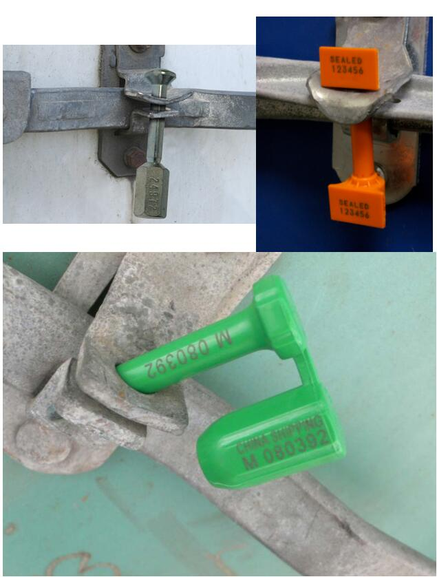 ABS Plastic Rfid Bolt Seal trailer seal