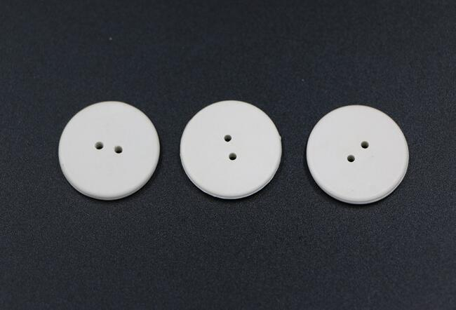 Alien Higgs-3 Clothes Button Laundry Rfid Tags , Laundry Labels For Clothing
